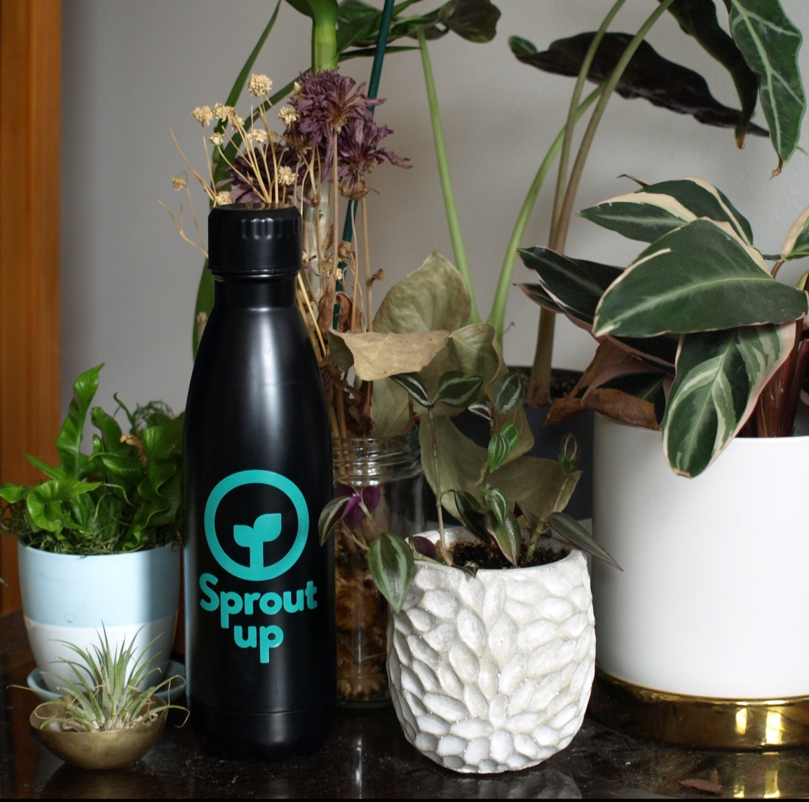 Sprout Up NYC water bottle